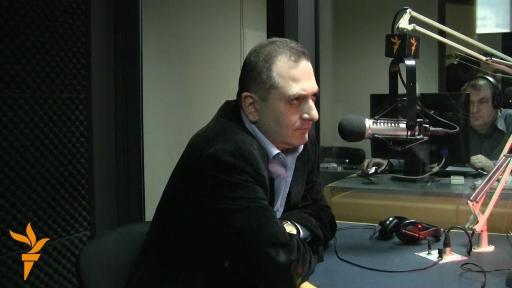 სტუმრად რადიო თვისუფლების ეთერში: თენგიზ ფხალაძე